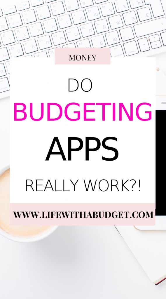 do budgeting apps work