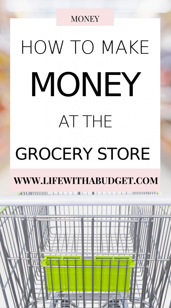 how to make money at the grocery store