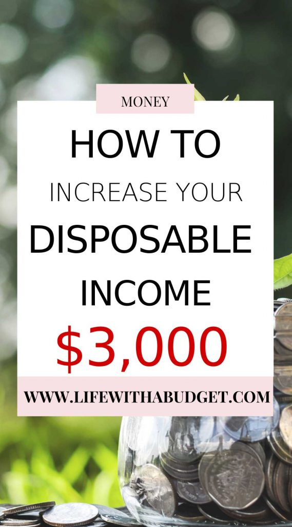 How to increase disposable income