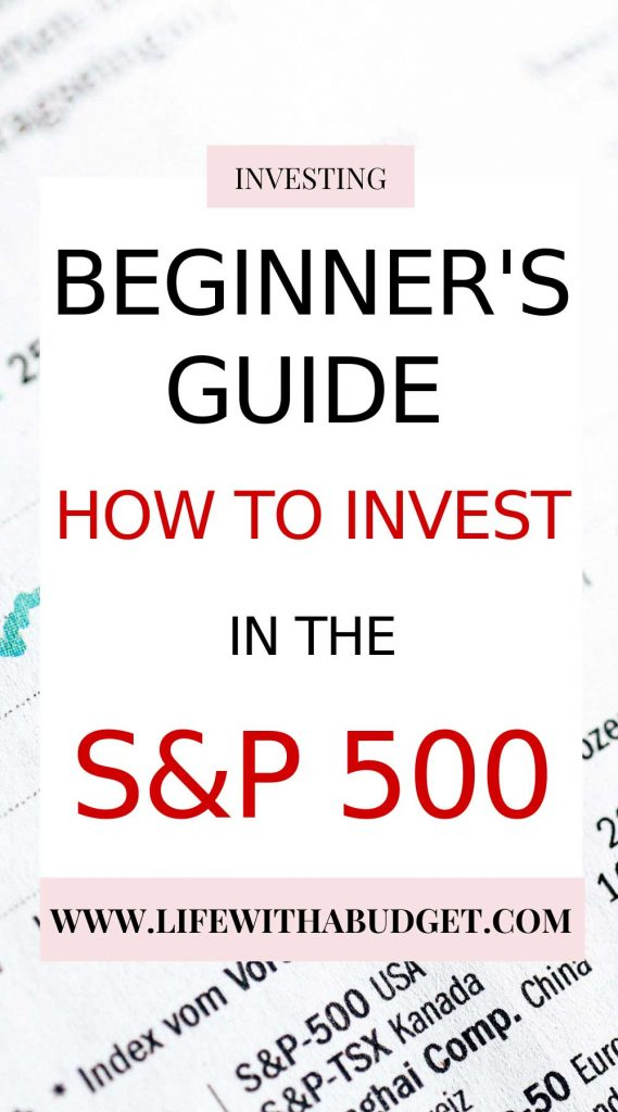 how to invest in the S&P500
