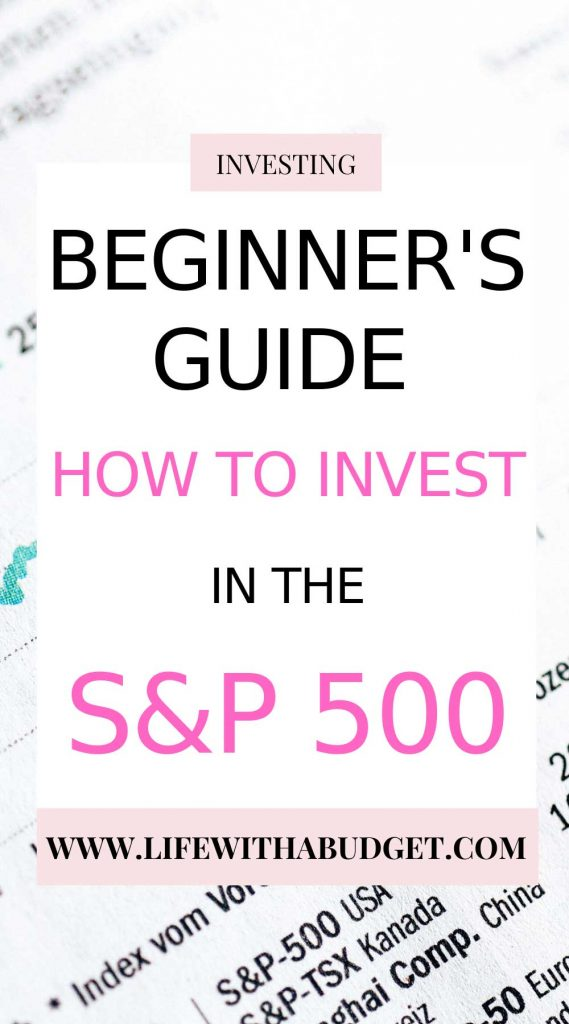 invest in the S&P 500
