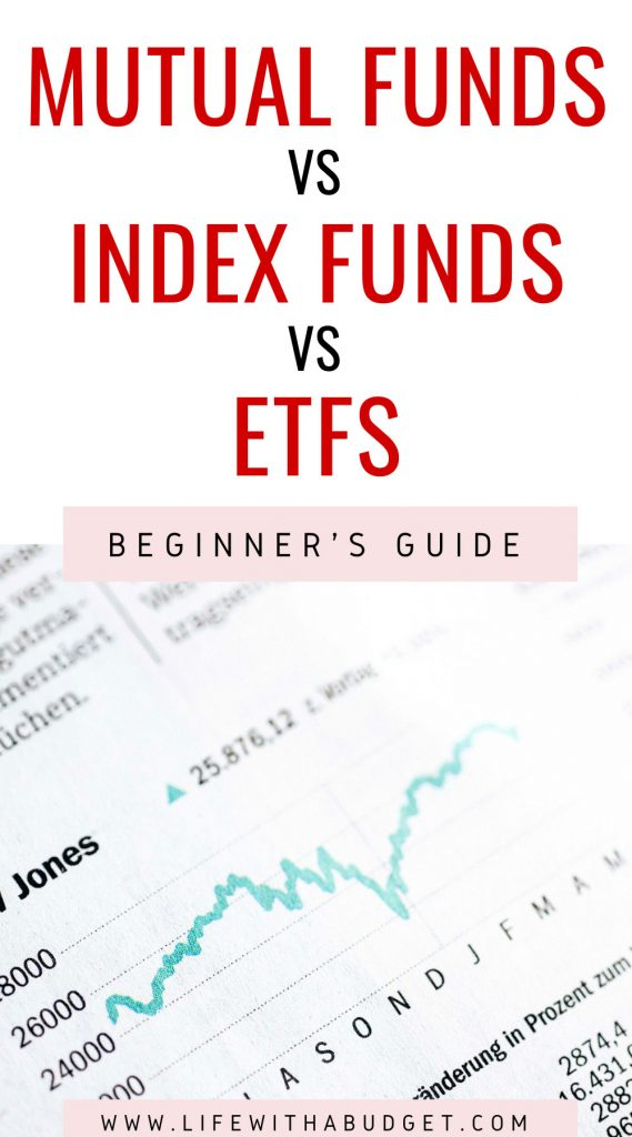 Mutual funds VS Index Funds VS ETFS
