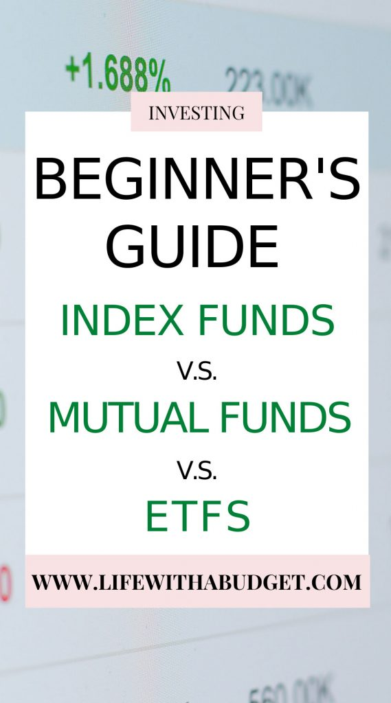beginner's guide to index funds mutual funds ETFS