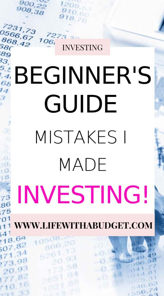 avoid these mistakes investing