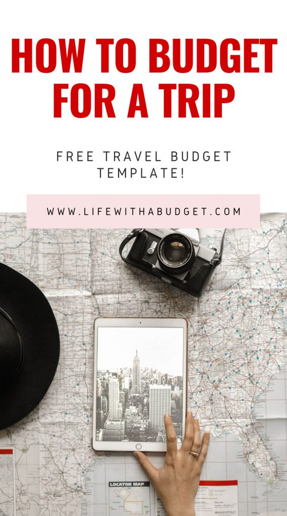 how to budget a trip