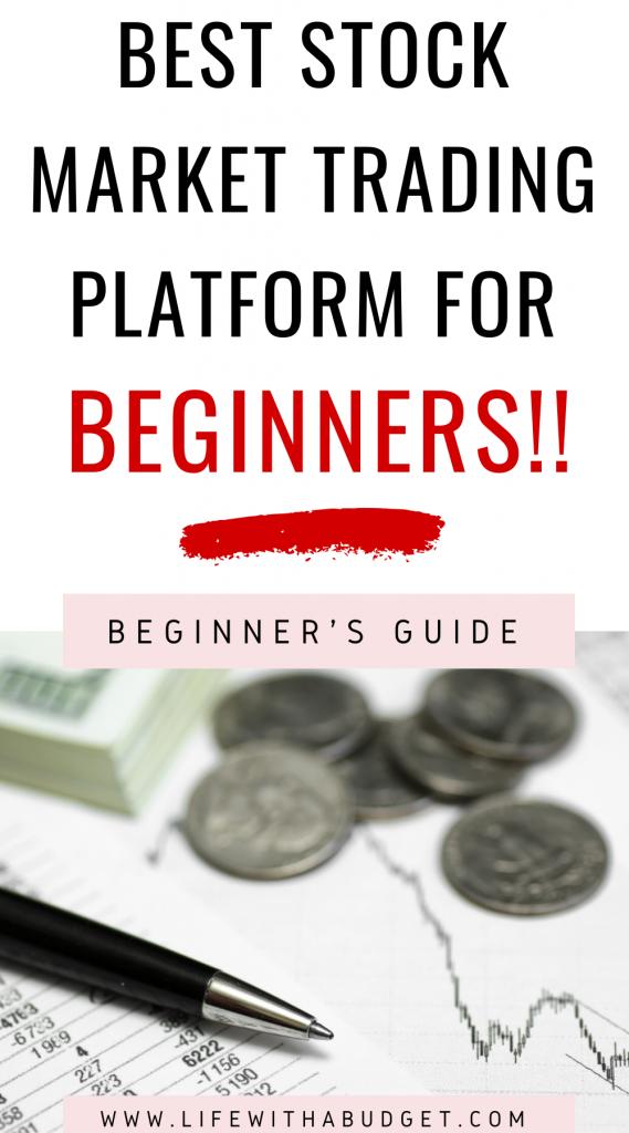 stock market trading platform for beginners
