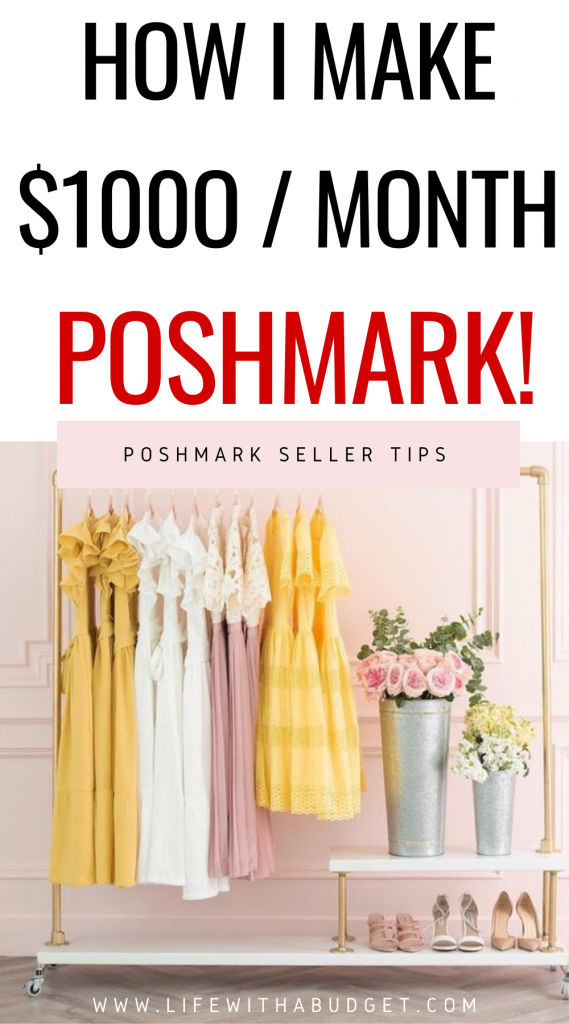 how to make your first 1000 on poshmark